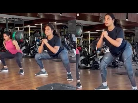 Bigg Boss fame Hari Teja shares workout video of her with Navya Swamy