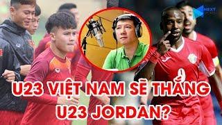 BLV Quang Huy dự đoán tỷ số và đội hình xuất phát U23 Việt Nam - U23 Jordan | NEXT SPORTS