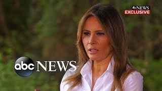 First lady Melania Trump not holding back