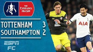 Tottenham 3-2 Southampton: Son Heung-min the hero for Spurs | FA Cup Highlights