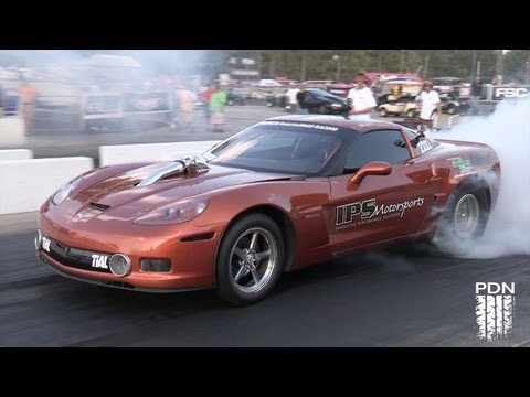 Mark Carlyle's Twin Turbo Corvette - Holley LS Fest