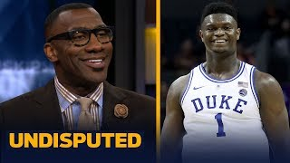 Shannon Sharpe: Zion Williamson is going to be the National Player of the Year | CBB | UNDISPUTED