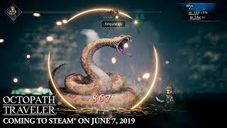 Octopath Traveler | PC Announcement