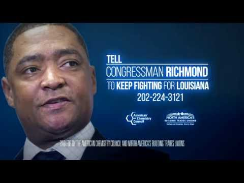 Industry, Labor Launch Ads Highlighting Rep. Cedric Richmond