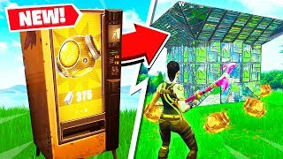 FORTNITE *NEW* PORT A FORTRESS GAMEPLAY! (RAREST ITEM in BATTLE ROYALE!)