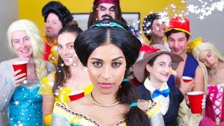 Disney Character House Party | Lilly Singh