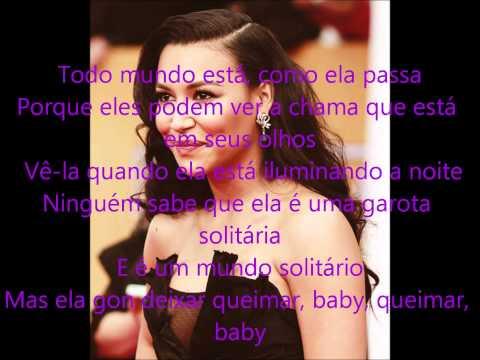 Baixar Glee - Girl On Fire (Tradução)