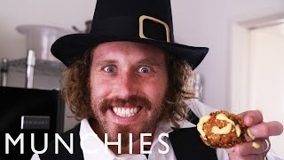 How To Make Deep Fried Turkey Balls With TJ Miller & Andy Windak