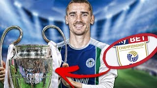 IS IT POSSIBLE TO WIN THE CHAMPIONS LEAGUE WHILE IN THE SECOND DIVISION? FIFA 19 Experiment