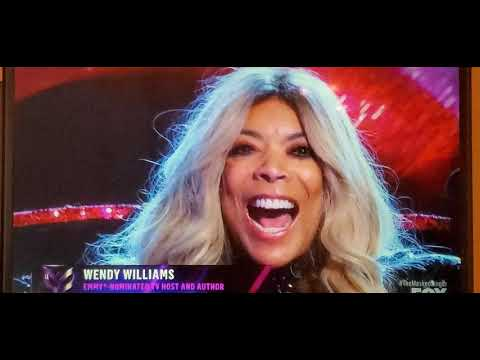 Wendy Williams on the Masked Singer!!!!!