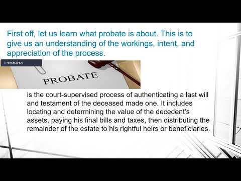 Selling a house in Probate in Oakland?