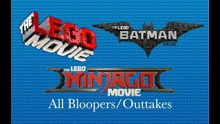 All LEGO Movie bloopers/outtakes
