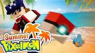SUMMER PIXELMON 🌴 En route pour une nouvelle aventure Minecraft ! - Newtiteuf