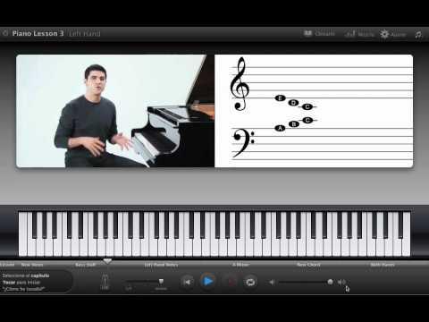 Lo básico para tocar piano mano derecha y mano izquierda