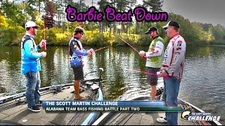 SMC Season 11.7 : Barbie vs Spiderman Fishing Challenge - Hilarious!!