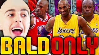 BEST BALD PLAYERS IN NBA HISTORY! NBA 2K16 SQUAD BUILDER