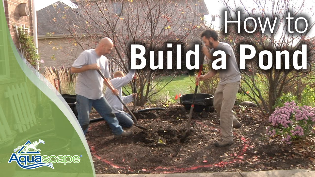How To Build a Pond by Aquascape