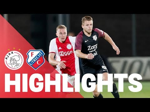 HIGHLIGHTS | Jong Ajax - Jong FC Utrecht