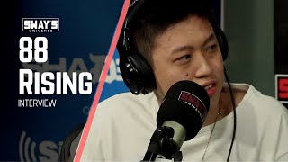 Rich Brian and August 08 of 88 Rising Stop by Sway In The Morning
