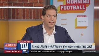 Peter Schrager reacts to Giants fired Pat Shurmur after two seasons as Head Coach