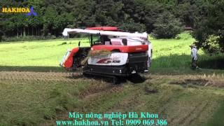 Máy gặt đời mới Kubota gặt lúa siêu đổ ER108 Dynamax - hakhoa.vn