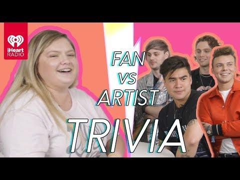 5 Seconds Of Summer Challenges A Super Fan In A Trivia Battle | Fan Vs. Artist Trivia