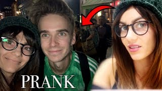 I lined up to prank my boyfriend and he had no idea!