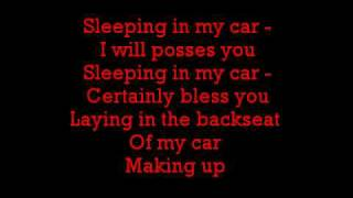 Roxette-Sleeping in my car lyrics