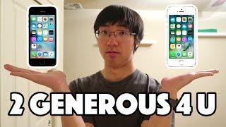 BUYING MY PARENTS NEW iPHONES