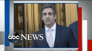 Exclusive: President Trump's former personal attorney Michael Cohen speaks out