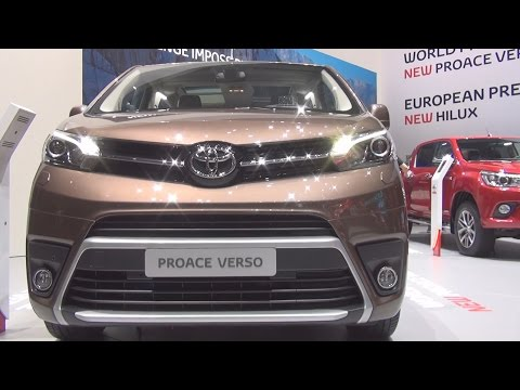 Toyota Proace Verso (2016) Exterior and Interior in 3D