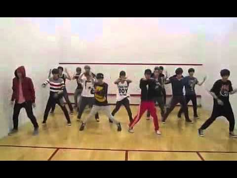 EXO & SHINee special stage -  Lucifer practice