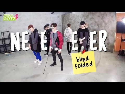 THINGS YOU DIDN'T NOTICE IN GOT7'S NEVER EVER (BLINDFOLDED VER.)