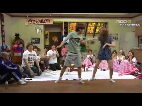 110627 Come to play SuJu TVXQ f(x) SNSD dancing cut