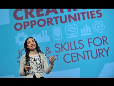 "Mona Mourshed, McKinsey, keynote address to ""Creating Opportunities"" conference"