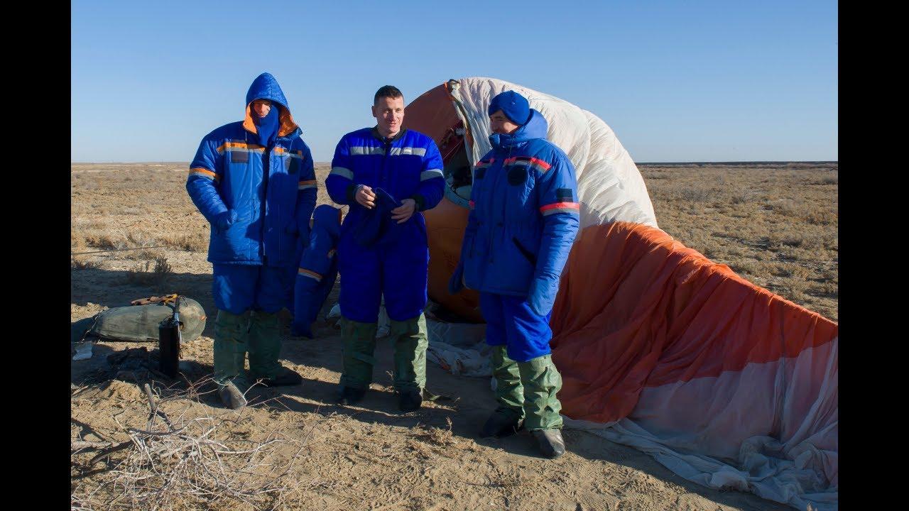 Выживание космонавтов в степи зимой