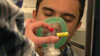 Airplane emergency medical training