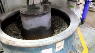 Leatherman Factory Tour: Tumbler Wash Cycle