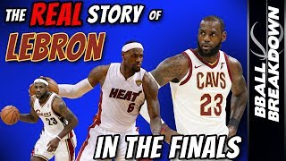 The REAL Story Of LEBRON James In The FINALS