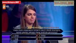 Kim milyoner olmak ister 279. bölüm 30.10.2013 Dilan Bilen