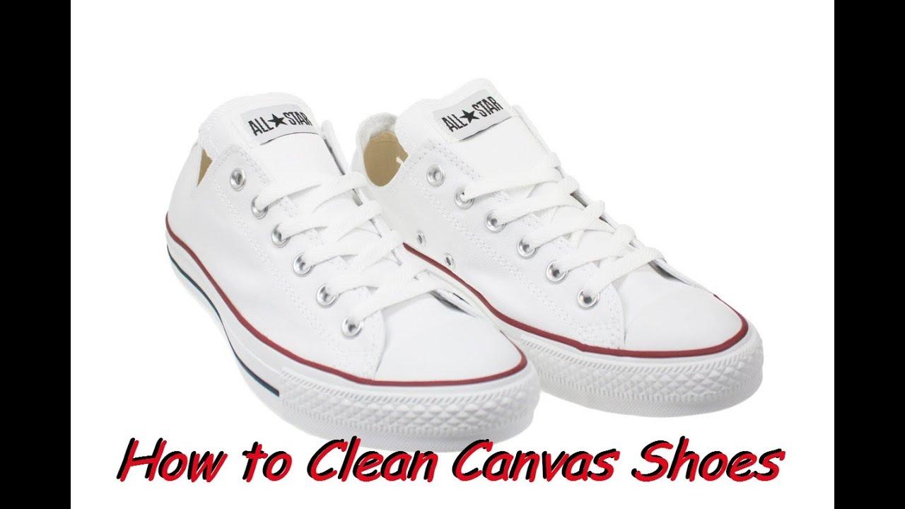 Washing Converse Tennis Shoes
