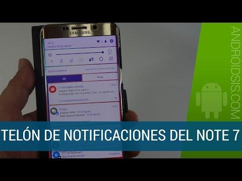 Cómo instalar la nueva interfaz de usuario del Samsung Galaxy Note 7 en tu Samsung