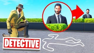 FORTNITE DETECTIVE: Solve The MURDER To WIN! *NEW MINIGAME*