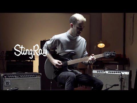 Sterling by Music Man StingRay SR30-DBL, Electric Guitar, Daphne Blue