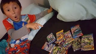 TOOTH FAIRY BRINGS BOOSTER PACKS!! Ethan Trades His Tooth For Pokemon Cards?! EPIC & UNBELIEVABLE!!!