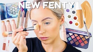 TRYING NEW FENTY HOLIDAY COLLECTION | KASEY RAYTON