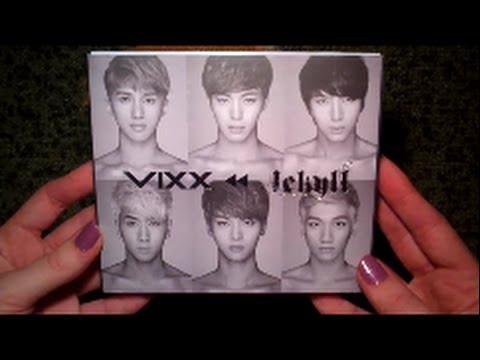 Unboxing VIXX 빅스 1st Mini Album Repackage Jekyll