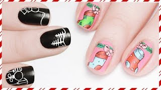 ULTIMATE CHRISTMAS NAIL ART TUTORIAL COMPILATION!