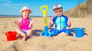 Funny Kids Pretend Play with Toys Video for Children from Gaby and Alex