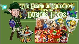 Au'Some Candies Nintendo Jelly Pop | Let's Try Dubious Foods - The Legend of Collections